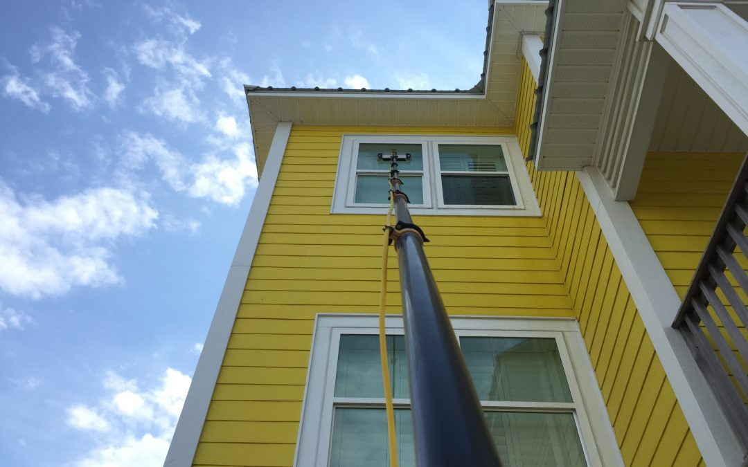 What Is Water Fed Pole Window Cleaning?