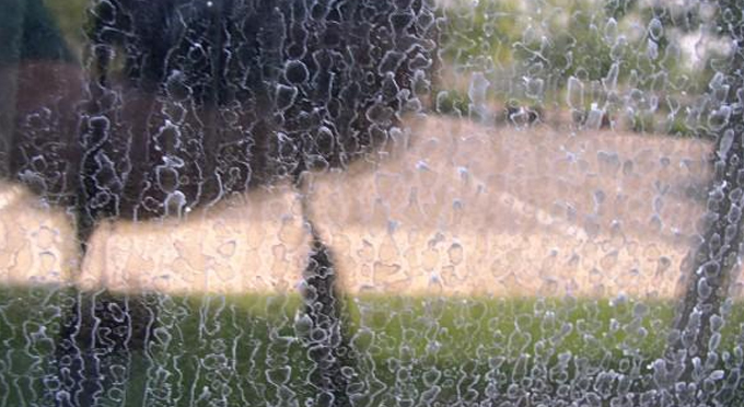 The White And Brown Spots On Your Windows Are Stains From Hard Water